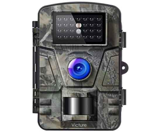 Available on the list of the hottest deals, the Victure stands out as a cheap alternative for conservative customers. The camera uses infrared technology to capture top-notch pictures daily.  Also, you get various credits out of the trigger sensor. It can respond to the motion in a split second, so you don't get notified falsely